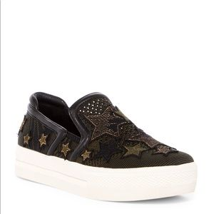 ✨ Ash Jeday Patched Platform Slip-On Sneakers